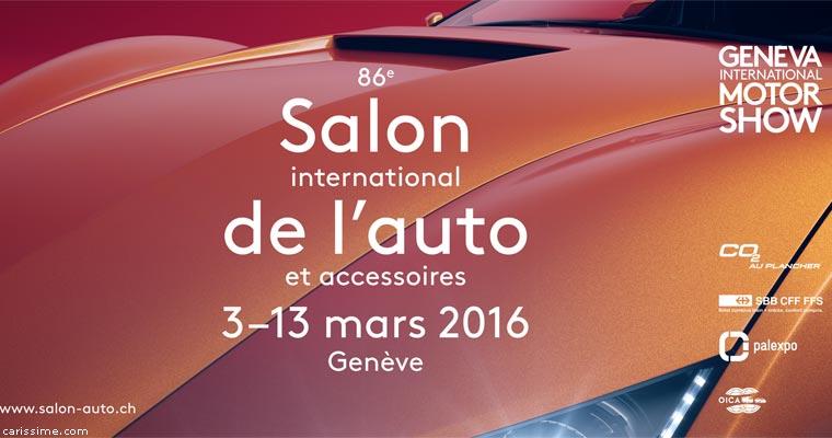 Salon auto gen ve 2016 - Salon de l auto 2016 ...