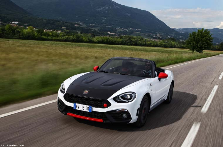 abarth 124 spider carissime l 39 info automobile. Black Bedroom Furniture Sets. Home Design Ideas