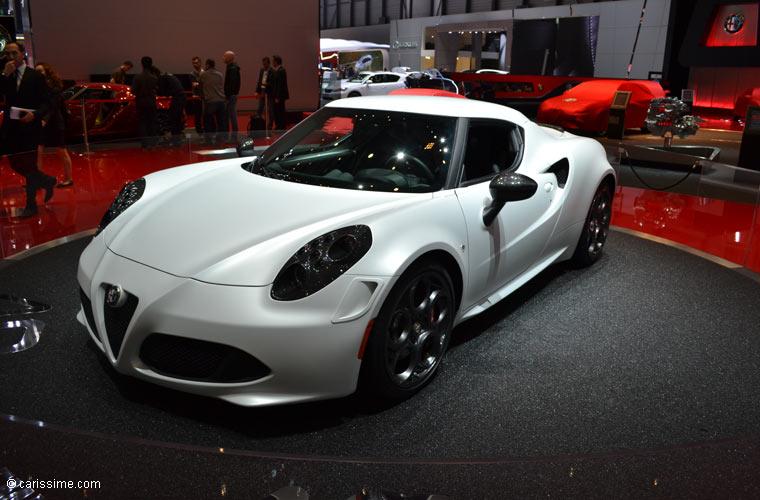 Alfa romeo au salon automobile de gen ve 2013 photos for Salon d auto geneve