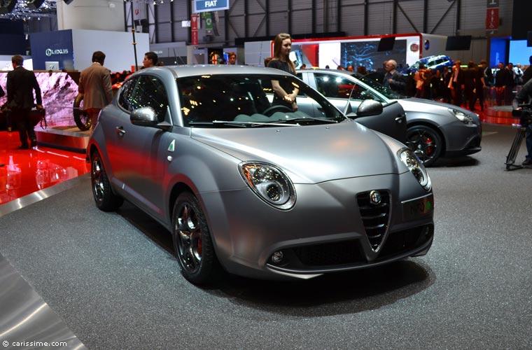 Alfa romeo au salon automobile de gen ve 2014 photos for Salon auto geneve