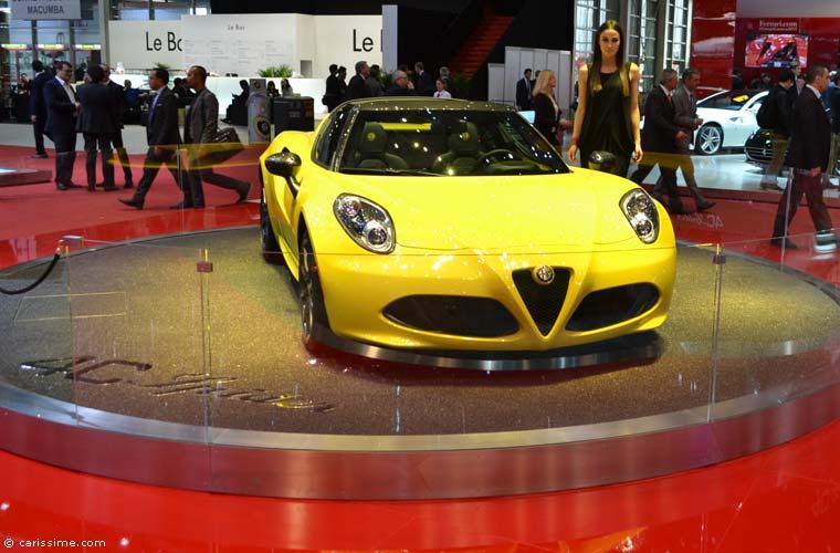 Alfa romeo au salon automobile de gen ve 2015 photos for Salon d auto geneve