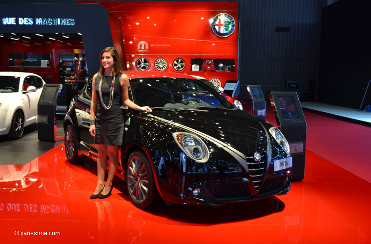 Alfa romeo au salon automobile de paris 2012 photos - Salon automobile 2017 paris ...