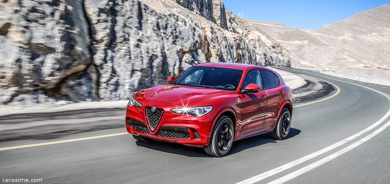 alfa romeo stelvio carissime l 39 info automobile. Black Bedroom Furniture Sets. Home Design Ideas