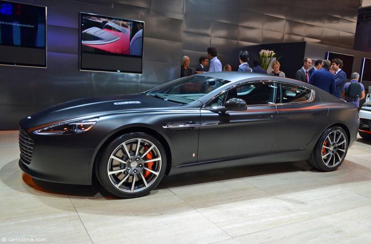 Aston Martin Au Salon Automobile De Paris 2014 Photos