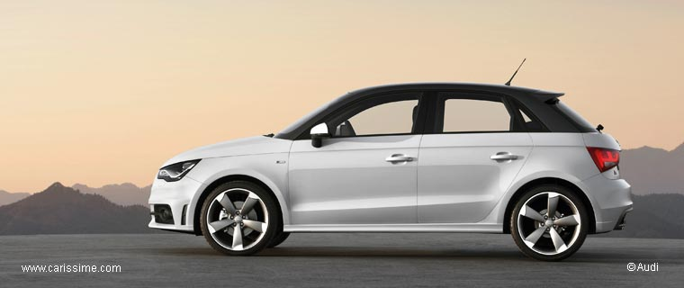 audi a1 sportback 5 portes 2012 2015. Black Bedroom Furniture Sets. Home Design Ideas