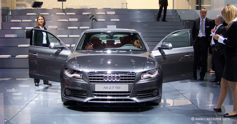 audi a4 iii salon de l 39 automobile francfort 2007. Black Bedroom Furniture Sets. Home Design Ideas