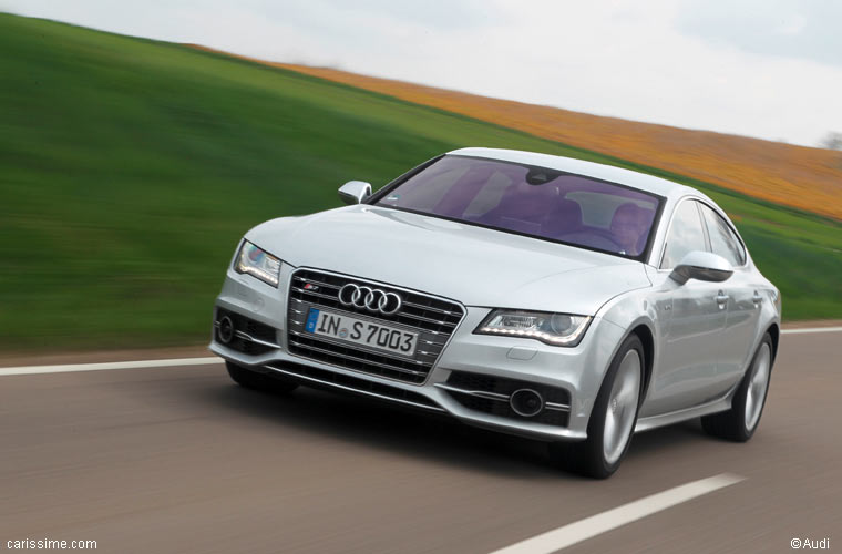 audi s7 sportback 2012 routi re sportive. Black Bedroom Furniture Sets. Home Design Ideas