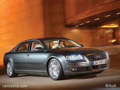 audi a8 2 restylage 2005 voiture neuve occasion nouveaut auto. Black Bedroom Furniture Sets. Home Design Ideas