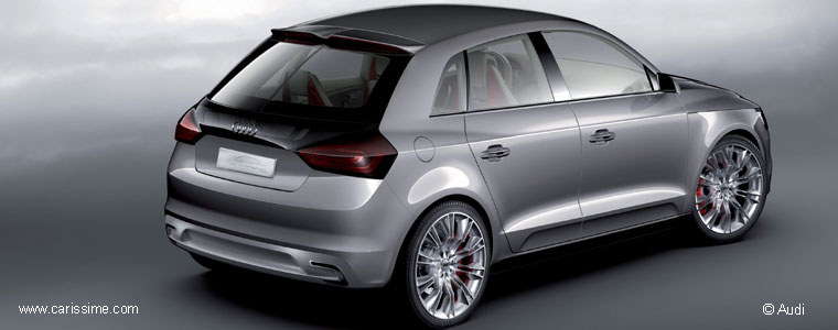 audi a1 sportback concept voiture audi concept car. Black Bedroom Furniture Sets. Home Design Ideas