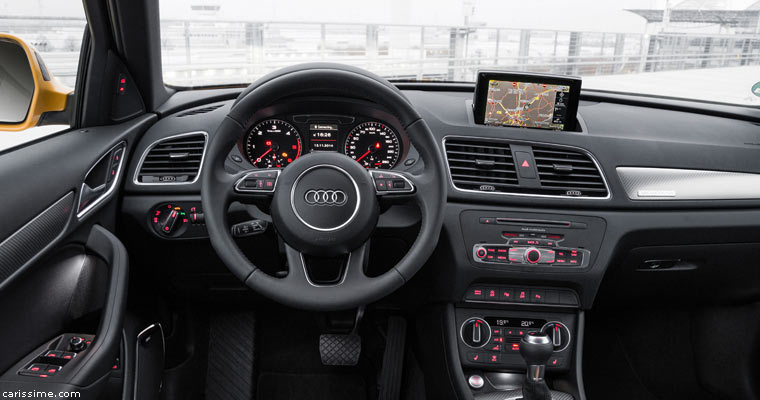 Audi q3 2015 carissime l 39 info automobile for Interieur q3 s line