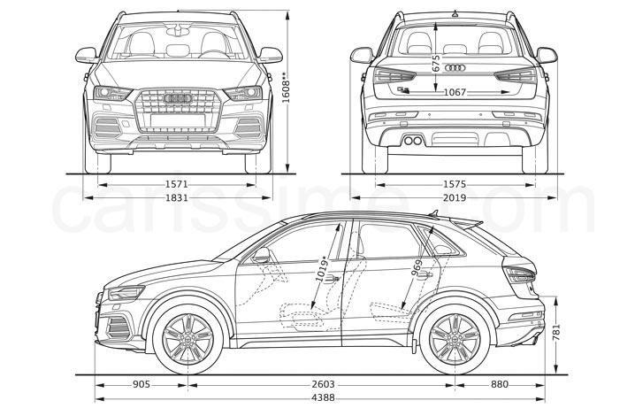 audi q3 2015 carissime l 39 info automobile. Black Bedroom Furniture Sets. Home Design Ideas