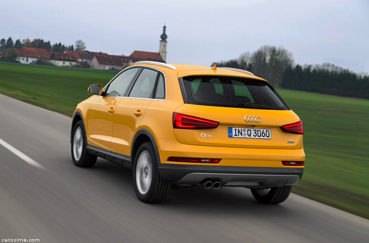 Audi Q3 SUV Compact 2015 Restylage