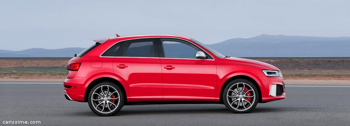 Audi Q3 RS SUV Sport 2015 Restylage