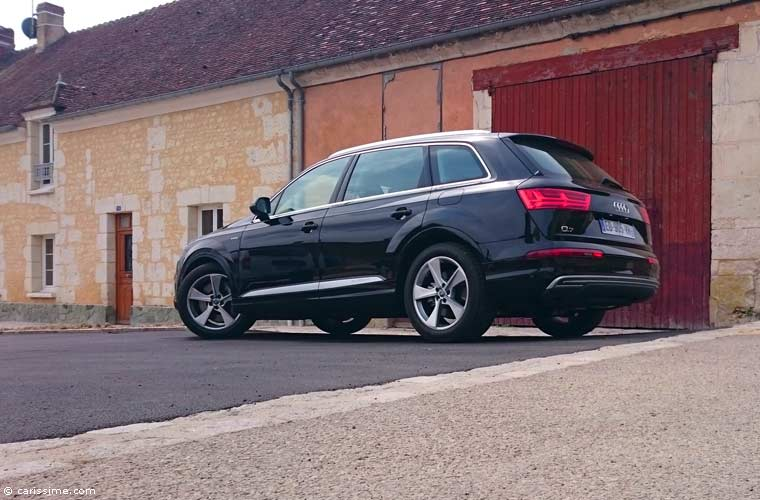 essai audi q7 e tron hybride 2016 carissime l 39 info automobile. Black Bedroom Furniture Sets. Home Design Ideas