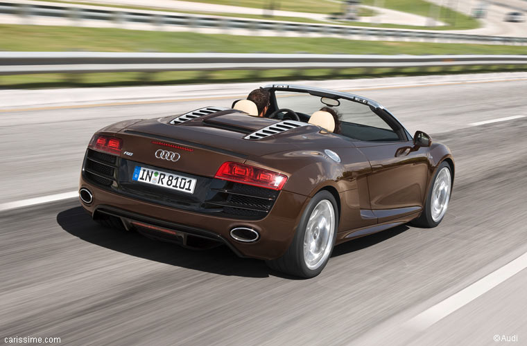 audi r8 spyder cabriolet de luxe 2010. Black Bedroom Furniture Sets. Home Design Ideas