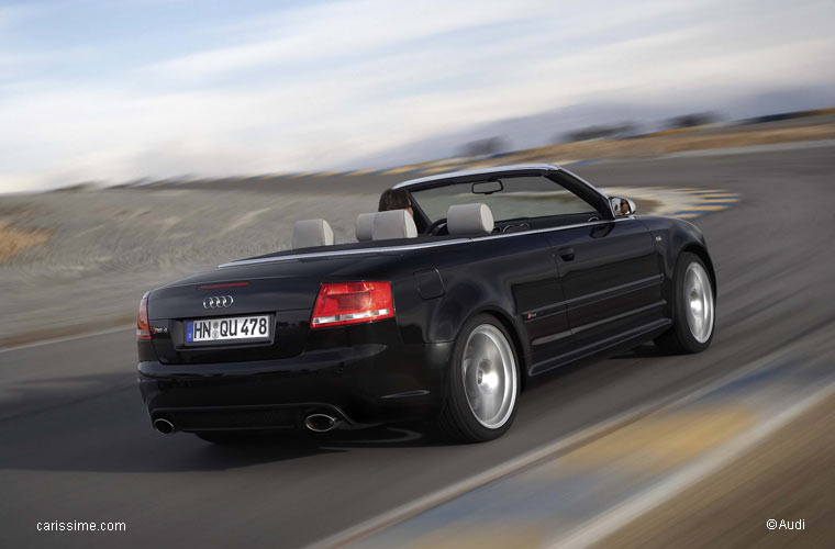 audi rs4 cabriolet 2006 2008 voiture occasion. Black Bedroom Furniture Sets. Home Design Ideas