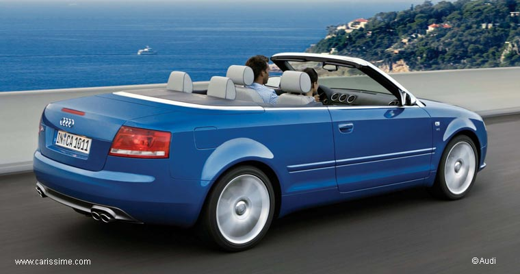 audi a4 b7 cabriolet et s4 cabriolet voiture audi a4. Black Bedroom Furniture Sets. Home Design Ideas