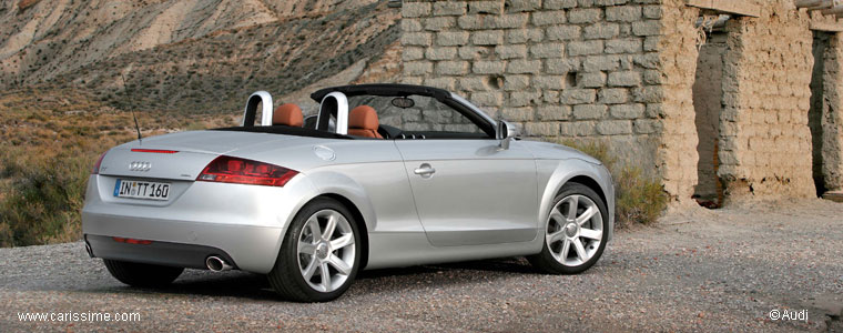 audi tt 2 roadster 2007 2010 voiture cabriolet 2 places. Black Bedroom Furniture Sets. Home Design Ideas