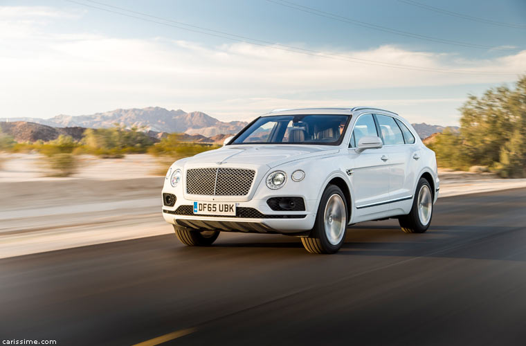 bentley bentayga suv de luxe 2016 carissime l 39 info automobile. Black Bedroom Furniture Sets. Home Design Ideas