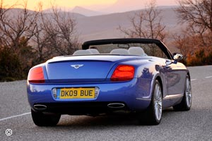 Bentley Continental Cabriolet GTC Speed Occasion
