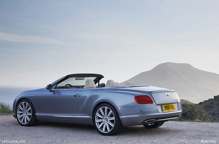 bentley continental gtc 2012 cabriolet de luxe carissime. Black Bedroom Furniture Sets. Home Design Ideas