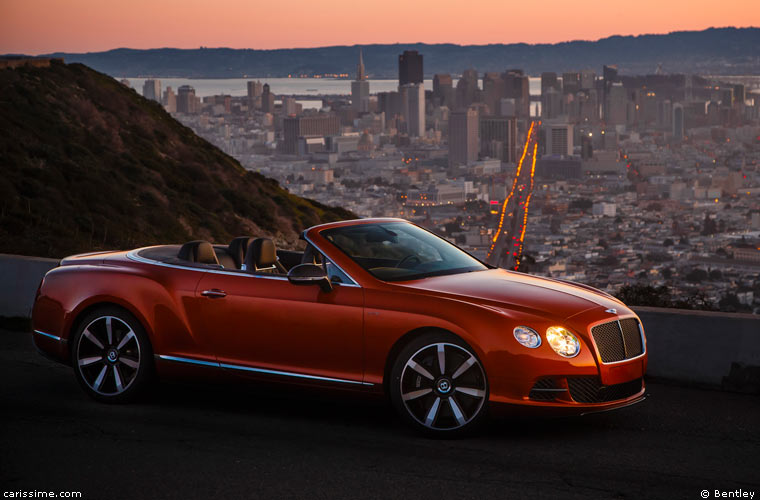 Bentley Continental GTC Cabriolet 2012