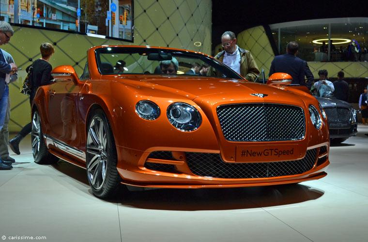 Bentley au salon automobile de gen ve 2014 photos for Salon de geneve 2014