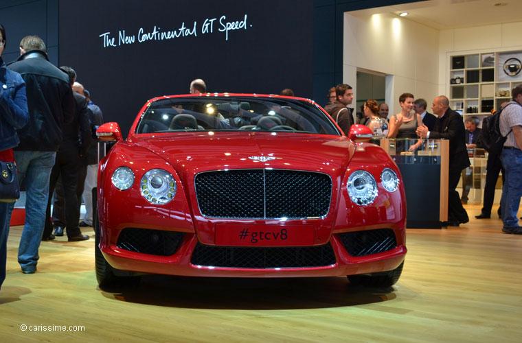 Bentley au salon automobile de paris 2012 photos for Salon de paris auto