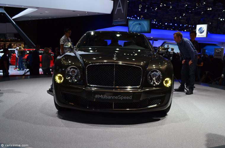 Bentley au salon automobile de paris 2014 photos for Salon de paris auto