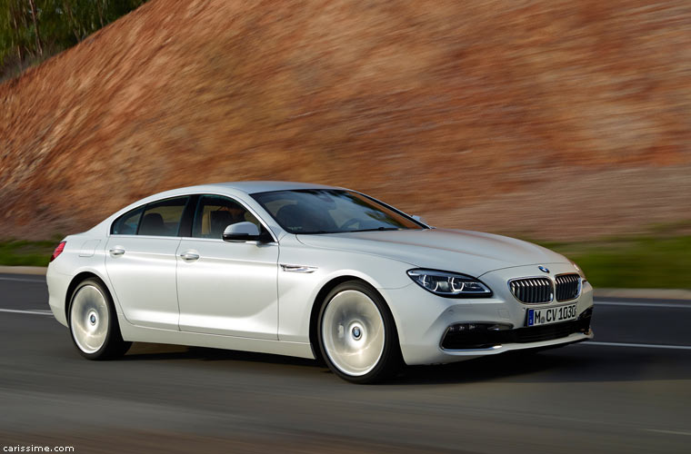 BMW 6 II Gran Coupé 2015 restylage