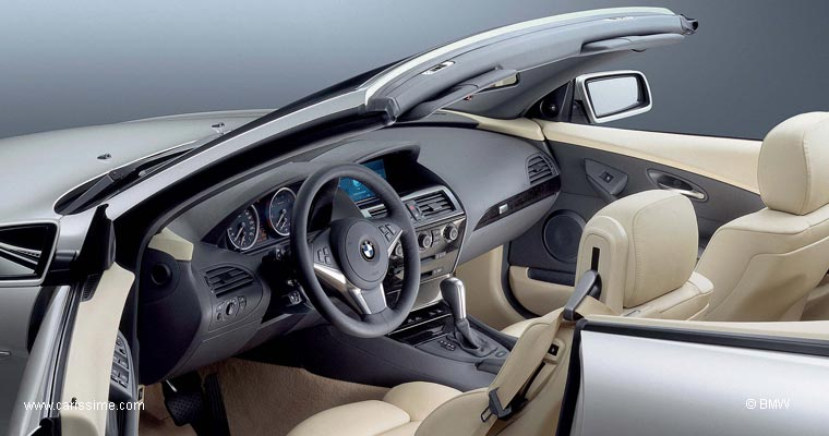 bmw s rie 6 cabriolet voiture neuve occasion nouveaut auto. Black Bedroom Furniture Sets. Home Design Ideas