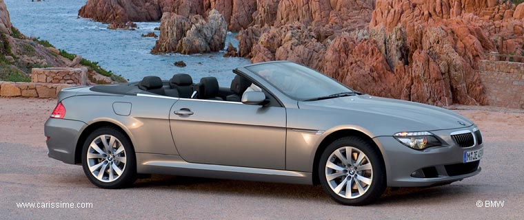 bmw s rie 6 cabriolet restylage 2007 voiture neuve occasion nouveaut auto. Black Bedroom Furniture Sets. Home Design Ideas