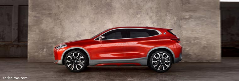 Concept BMW X2 Paris 2016