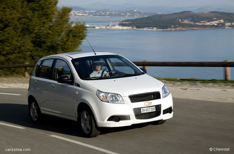 chevrolet aveo 1 2008 2011 voiture occasion. Black Bedroom Furniture Sets. Home Design Ideas