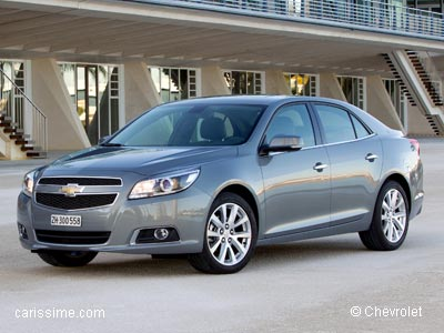 chevrolet malibu voiture routi re 2012. Black Bedroom Furniture Sets. Home Design Ideas
