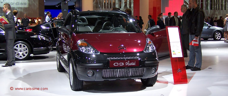 citroen c3 pluriel charleston salon de l 39 automobile paris 2008. Black Bedroom Furniture Sets. Home Design Ideas