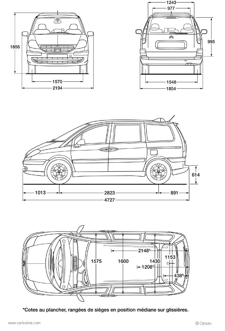 citroen c8 voiture citroen c8 fiche technique. Black Bedroom Furniture Sets. Home Design Ideas