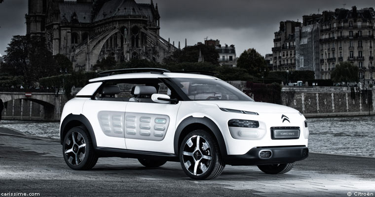 citroen cactus concept car francfort 2013. Black Bedroom Furniture Sets. Home Design Ideas