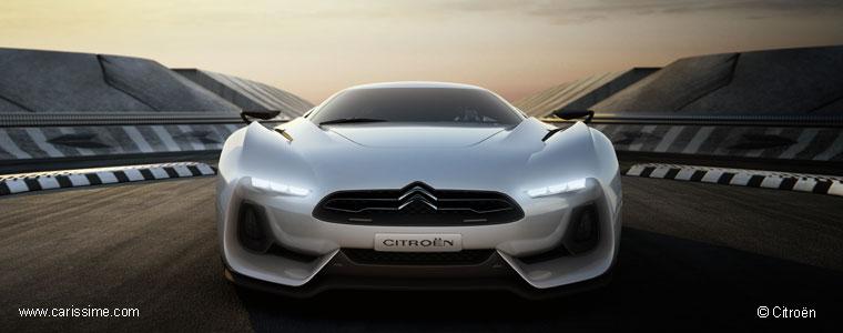 Citroen Gt Concept Gtbycitron Voiture Citroen Car