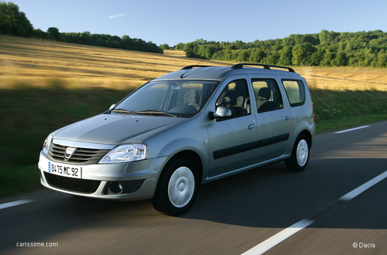 dacia logan 1 break mcv restylage 2008 2012 voiture occasion. Black Bedroom Furniture Sets. Home Design Ideas