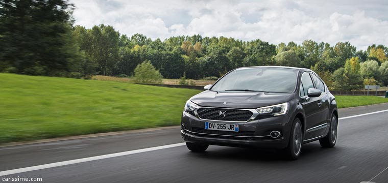 DS 4 2015 Voiture Compacte Luxueuse