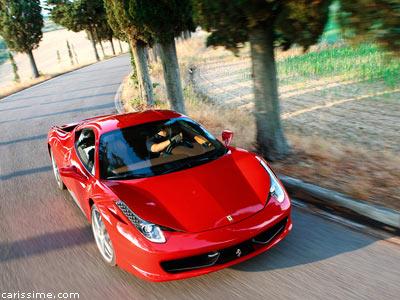 ferrari 458 italia 2009 voiture de sport. Black Bedroom Furniture Sets. Home Design Ideas