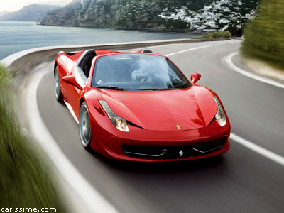 ferrari 458 spider cabriolet de sport. Black Bedroom Furniture Sets. Home Design Ideas