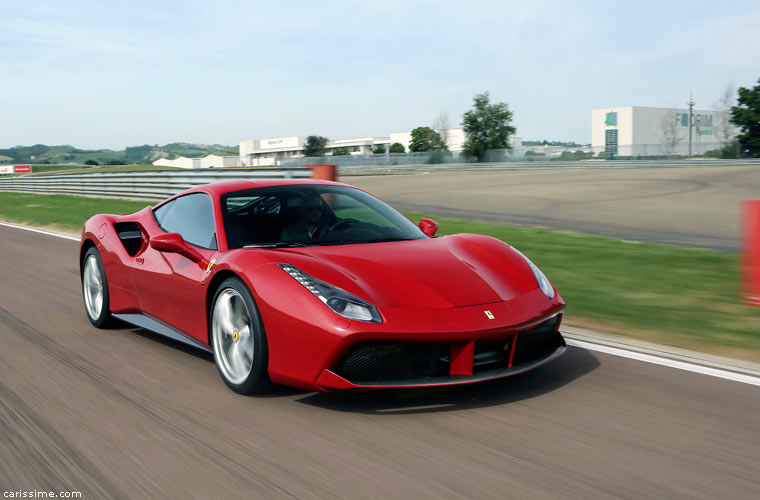 ferrari 488 gtb carissime l 39 info automobile. Black Bedroom Furniture Sets. Home Design Ideas