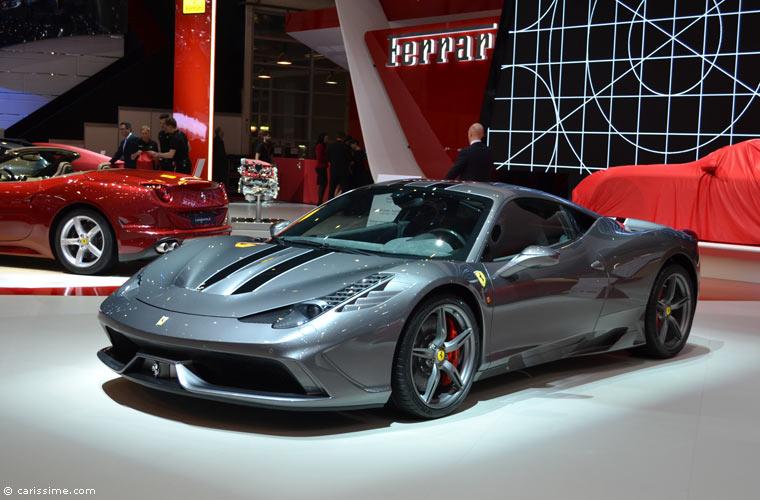 Ferrari au salon automobile de gen ve 2014 photos for Salon de geneve 2014