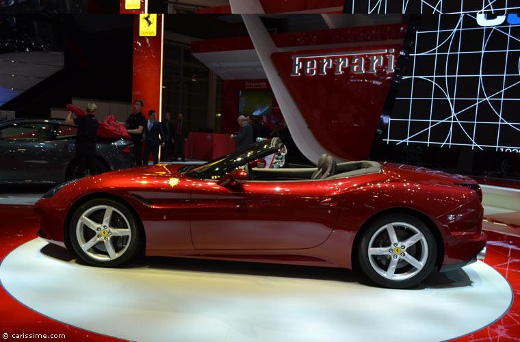 Ferrari au salon automobile de gen ve 2014 photos for Salon auto geneve