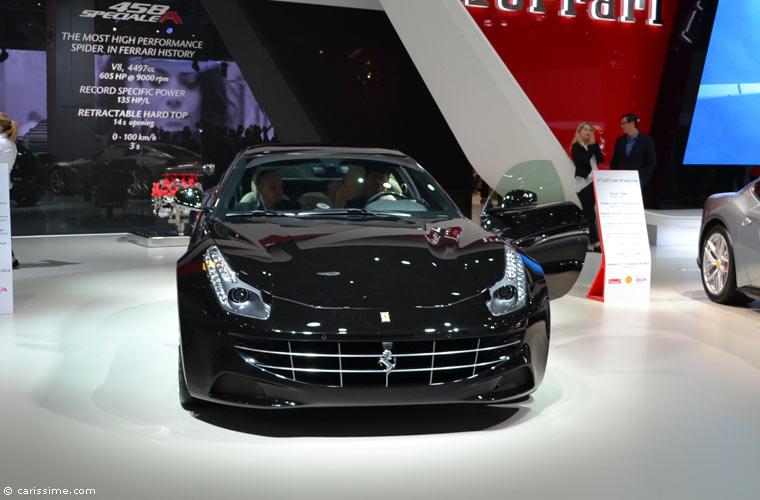 Ferrari au salon automobile de paris 2014 photos for Salon de paris auto