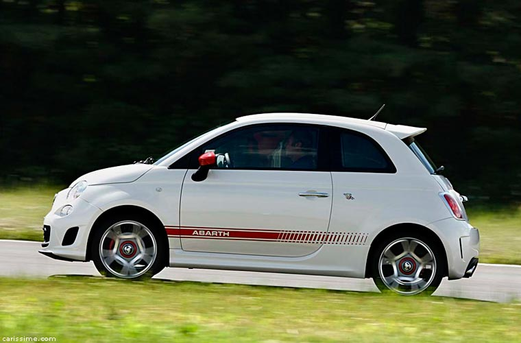 abarth 500 2008 carissime l 39 info automobile. Black Bedroom Furniture Sets. Home Design Ideas
