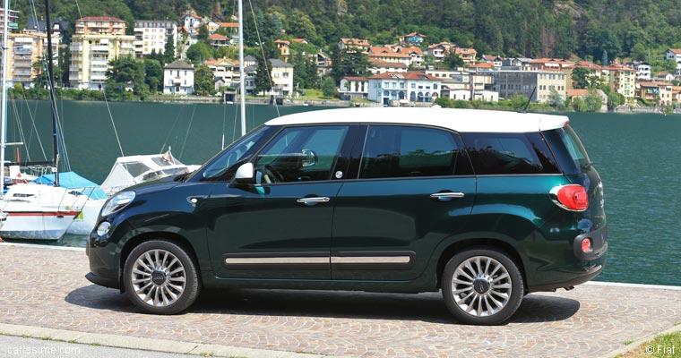 fiat 500l living 2013 carissime l 39 info automobile. Black Bedroom Furniture Sets. Home Design Ideas