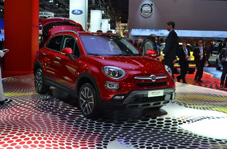 Fiat au salon automobile de paris 2014 photos for Salon de l auto paris